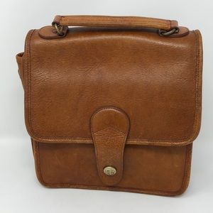 Vintage Perry Ellis Leather Bag